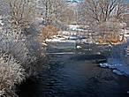 речушка Дир Крик, образующая дальше большое водохранилище