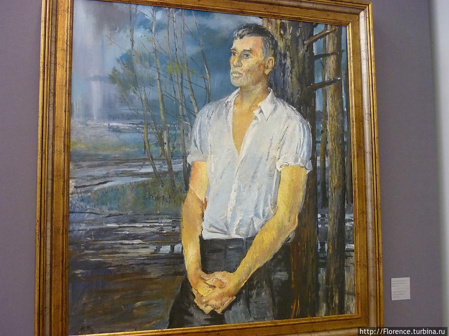 Ю.Пименов. Портрет Б.Пастернака