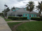Багамский полицейский участок.