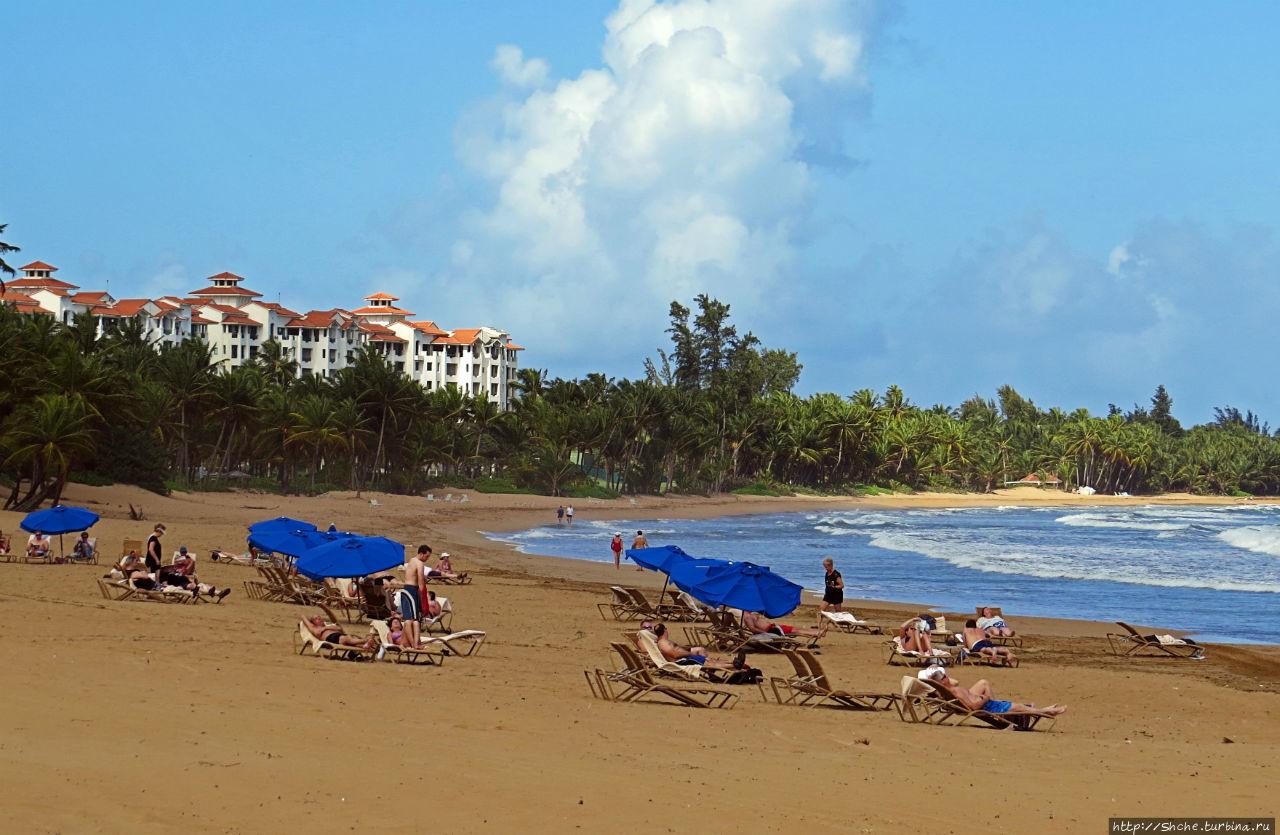 Типа пляжный отдых в Пуэрто-Рико — 1,5 купаний за неделю Лукильо, Пуэрто-Рико