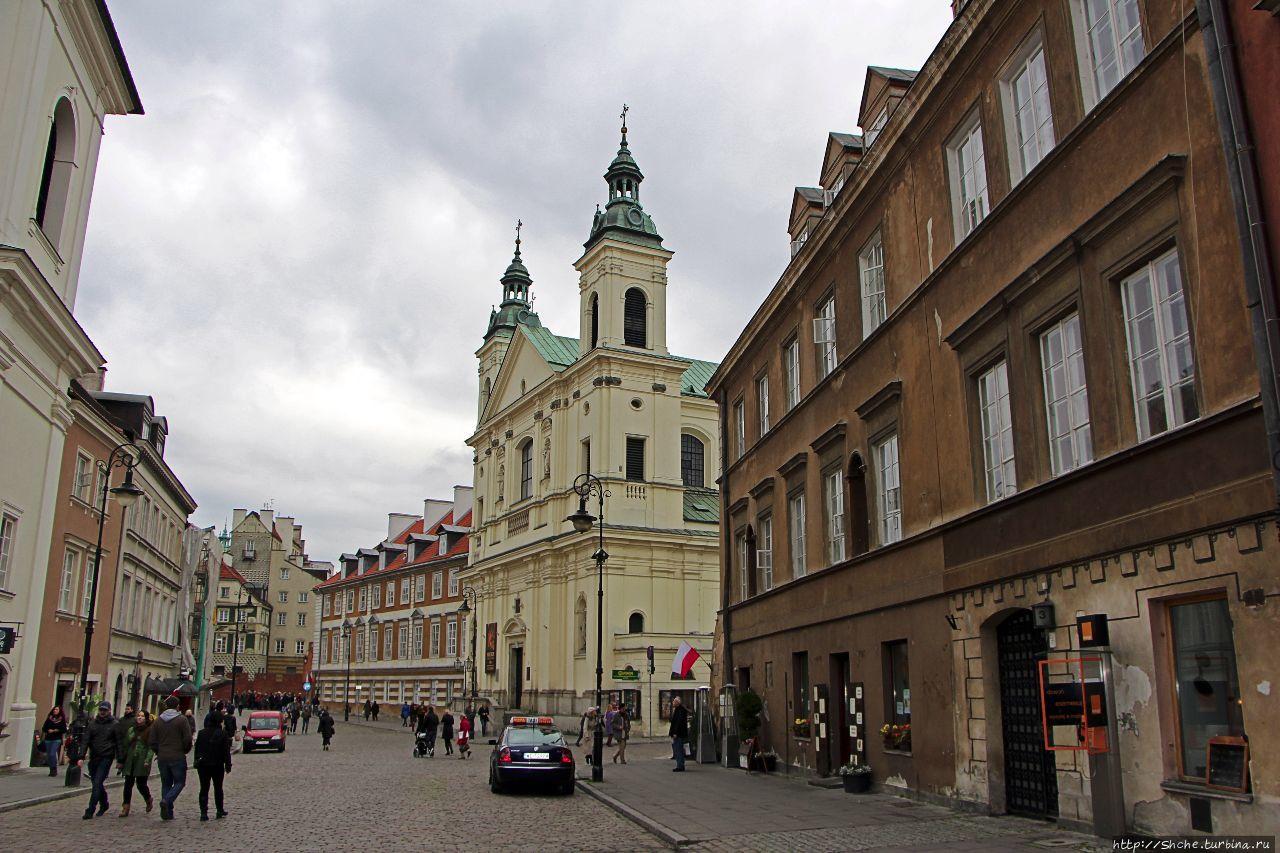 Совсем не новое Nowe Miasto Варшавы