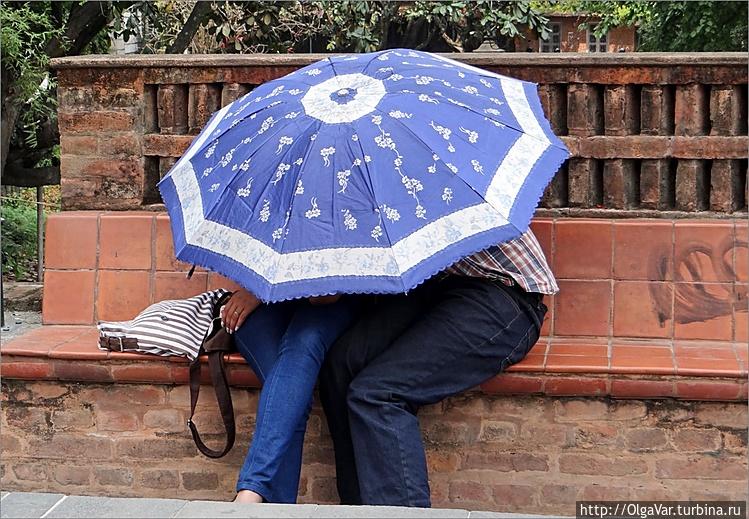 Зонт для влюбленных:<br /> Есл