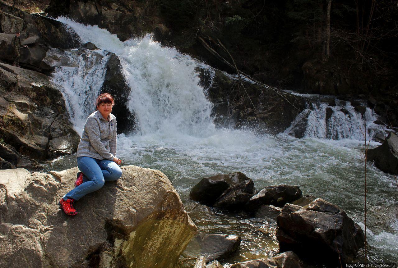водопад Каменка Каменка (Львовская область), Украина