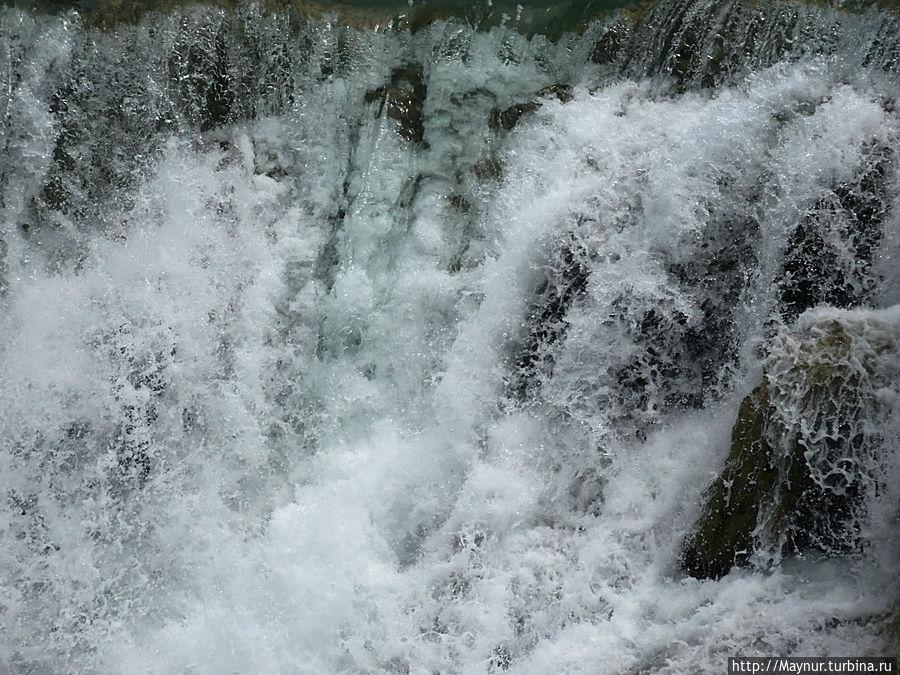 Буйство  воды. Национальный парк Крка, Хорватия