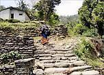 На обратном пути подъем в Чомронг показался труднее. Лестница вообще не кончалась. За поворотом начиналась другая. До своего гестхауса мы плелись что-то больше часа