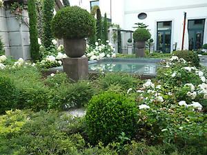 Цветочный садик виллы Зоя.