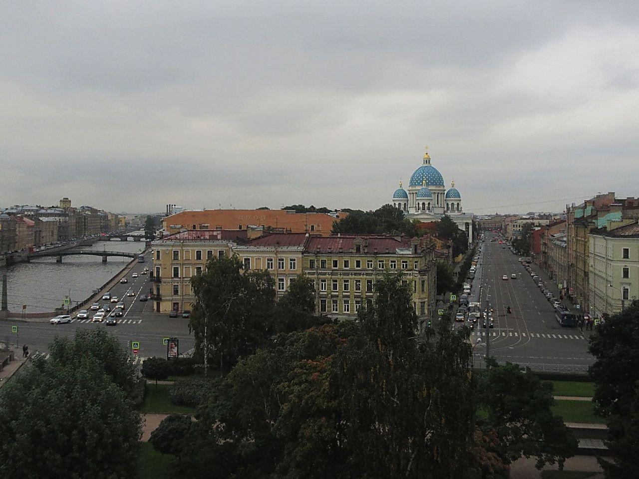 Самый юный парк самого туристического города Европы. Санкт-Петербург, Россия