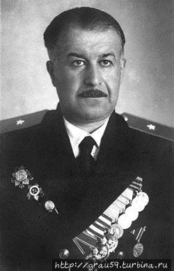Намгаладзе Дмитрий Багратович, начальник разведывательного отдела штаба Черноморского флота (фото из Интернета)