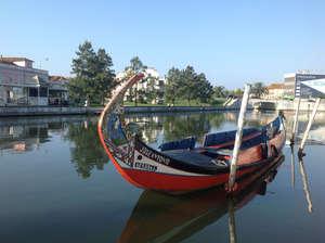 Лодка на реке Авейру.