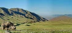степные горы Торайгыр