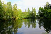 Нижний пруд в Абрамцево.