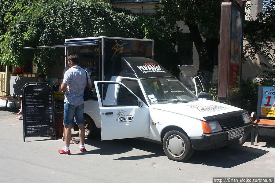 Мобильные кофейни Одесса, Украина