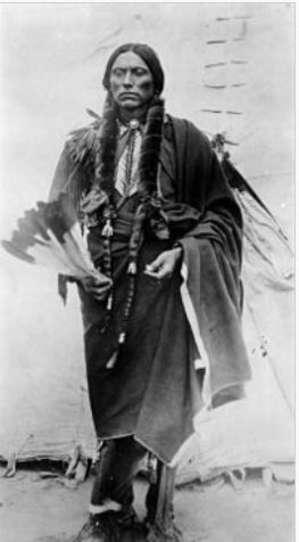 Квана Паркер — Великий Вождь Команчей