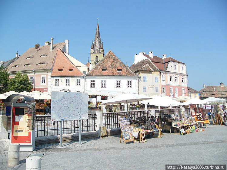 Сибиу, старый город