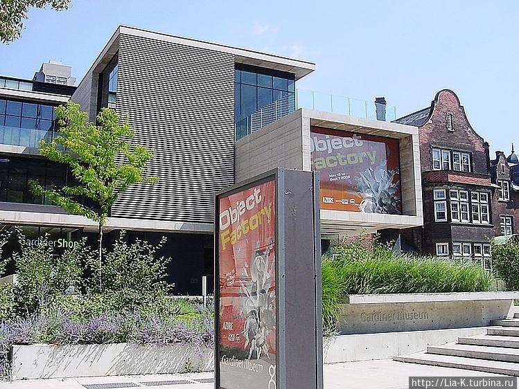 Новое здание Музея керами