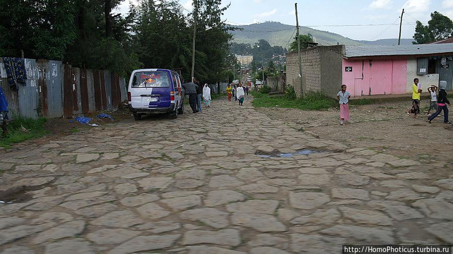 Улицы Аддис-Абебы Аддис-Абеба, Эфиопия