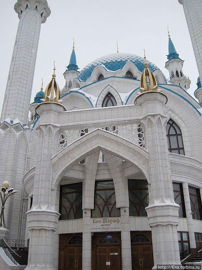 Мечеть Кул Шариф. Фрагмент