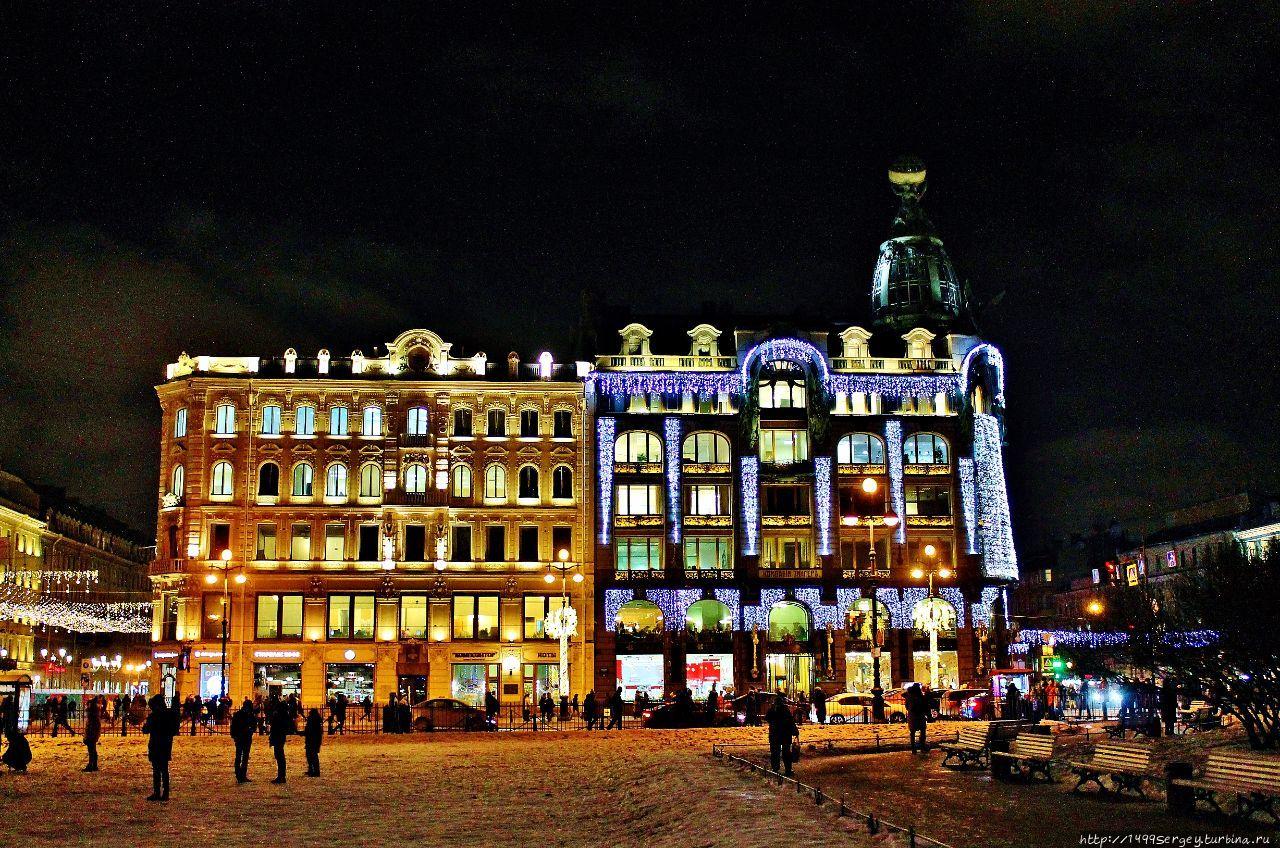 Казанский сквер и дом Кни