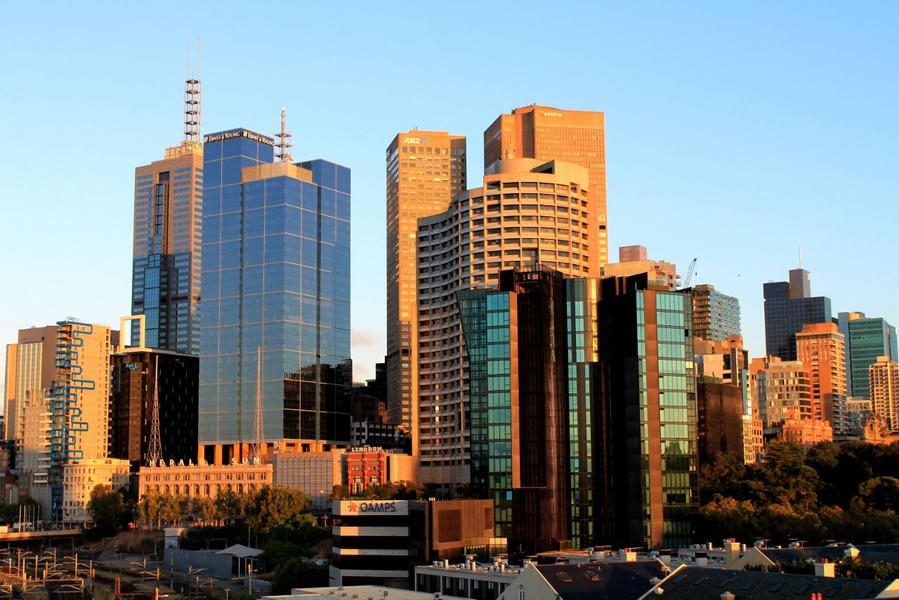 Вид на центральные кваталы города