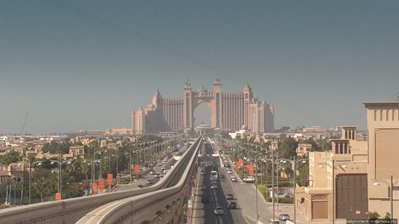 Монорельс. Дубай Дубай, ОАЭ