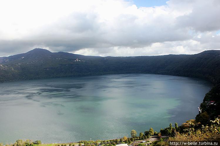 Озеро Альбано.