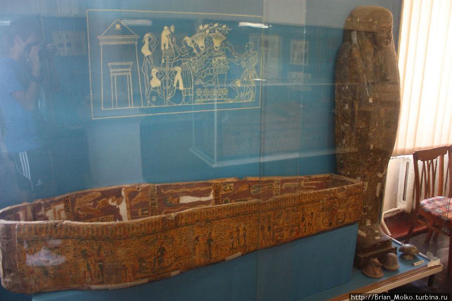 В зале Египта