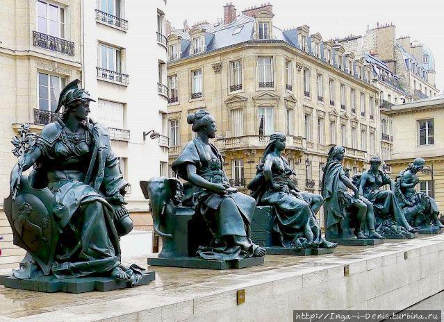 фото из интернета: 6 скульптур, символизирующих континенты