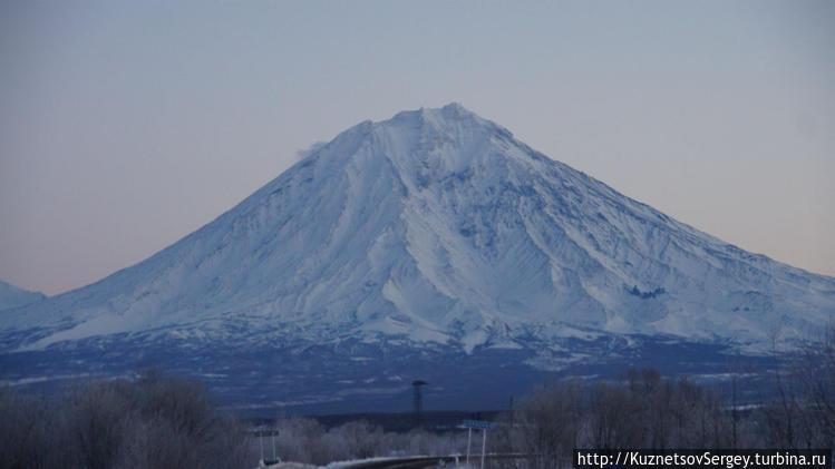 Корякский вулкан от Елизо