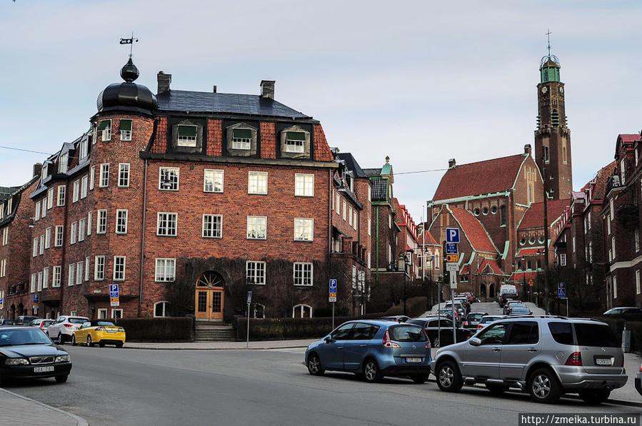церковь Engelbrektskyrka