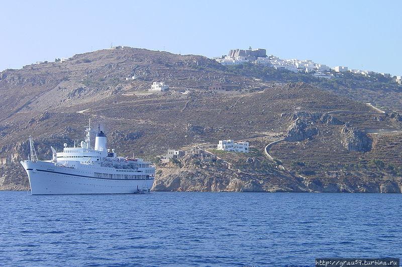 Остров Патмос. На вершине