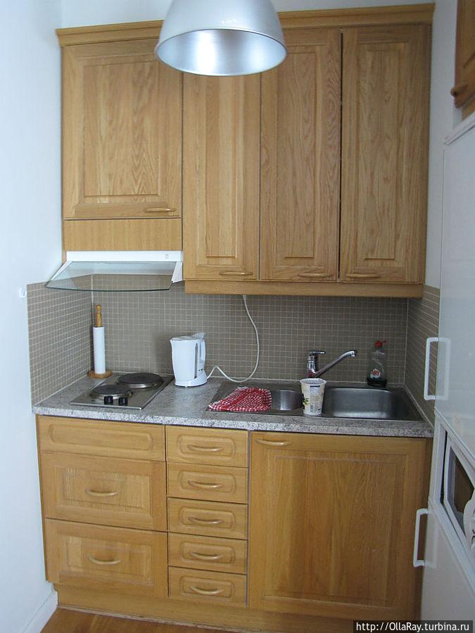 Блок-кухня.