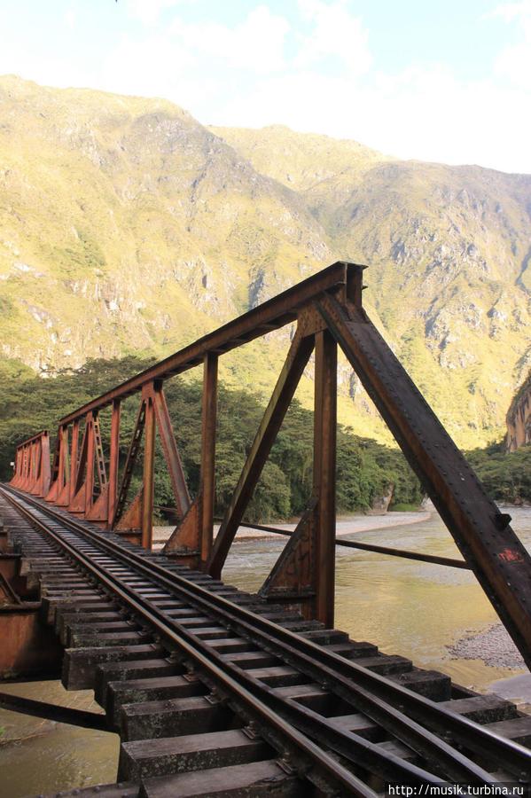 дорога от Гидроэлектрики до Аквакальентес