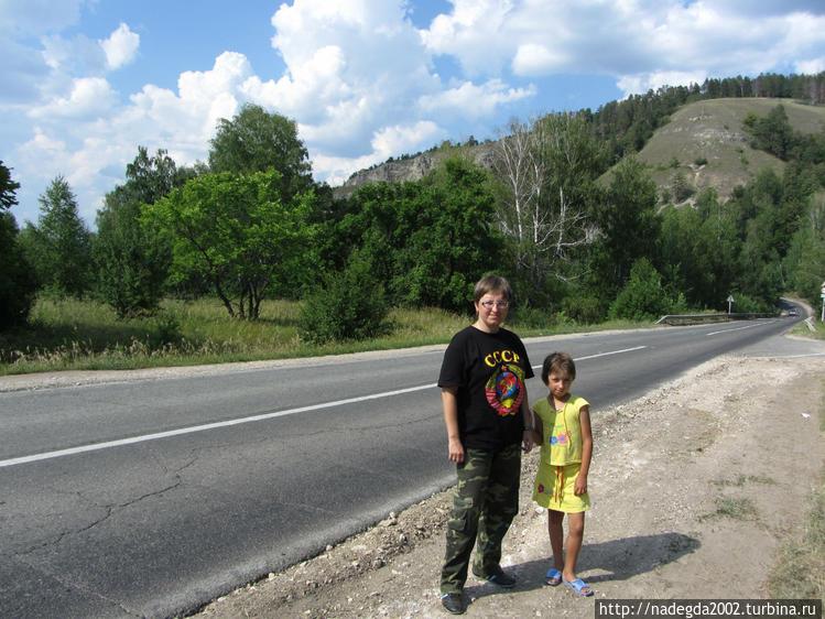 Дорога в Ширяево