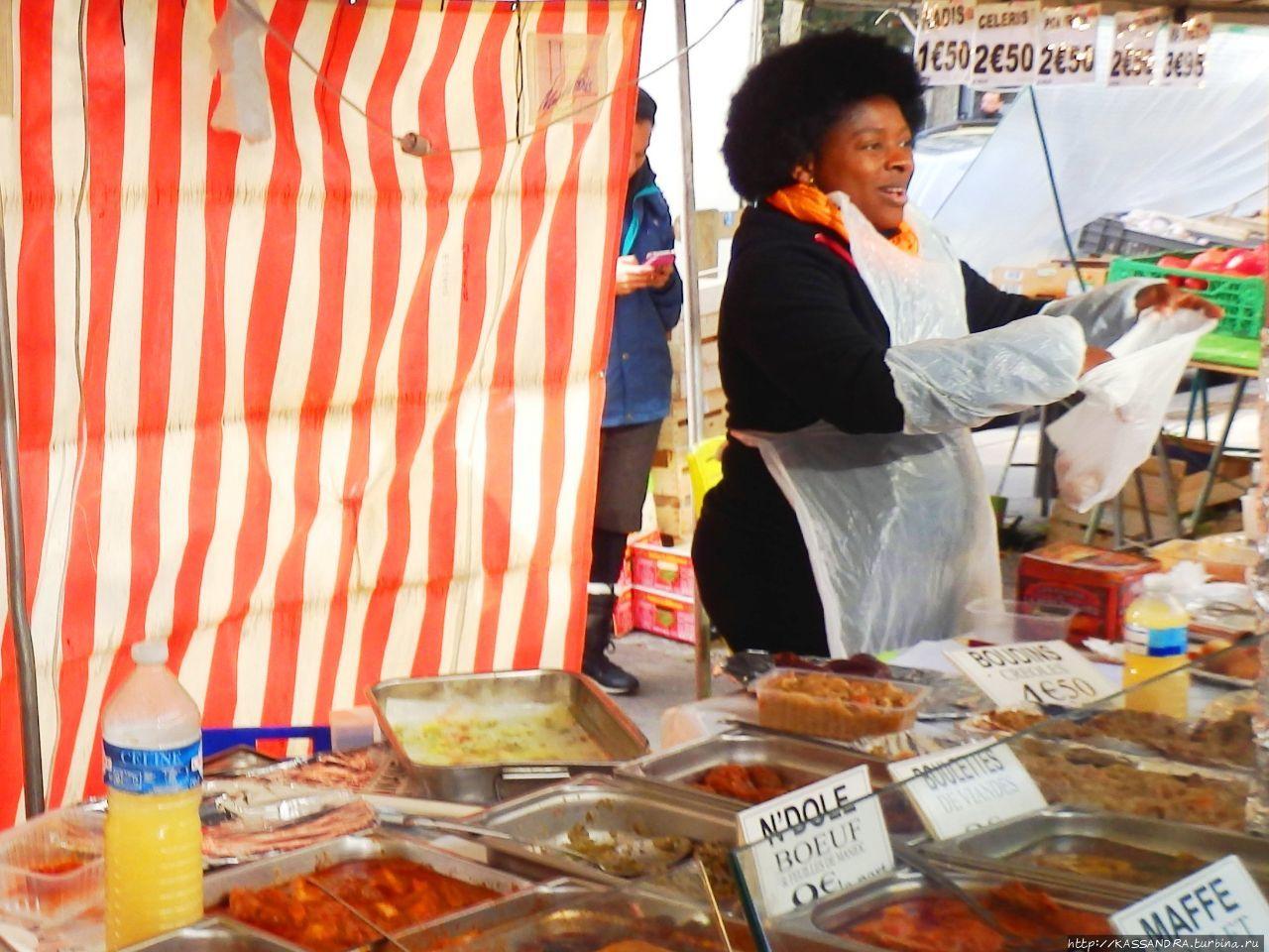 Кухня Прованса. Торговцы моллюсками