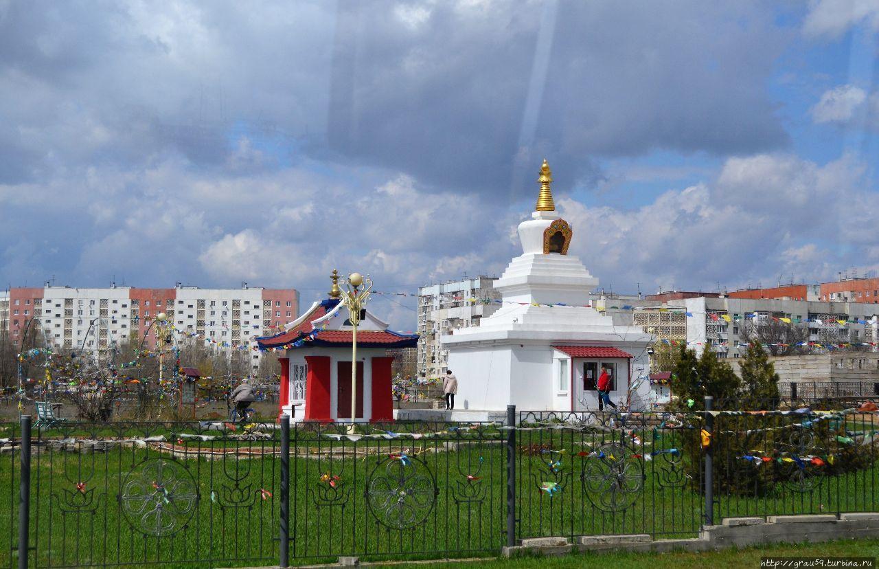 Ступа Просветления Элиста, Россия