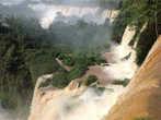 На аргентинской стороне водопадов Игуасу.