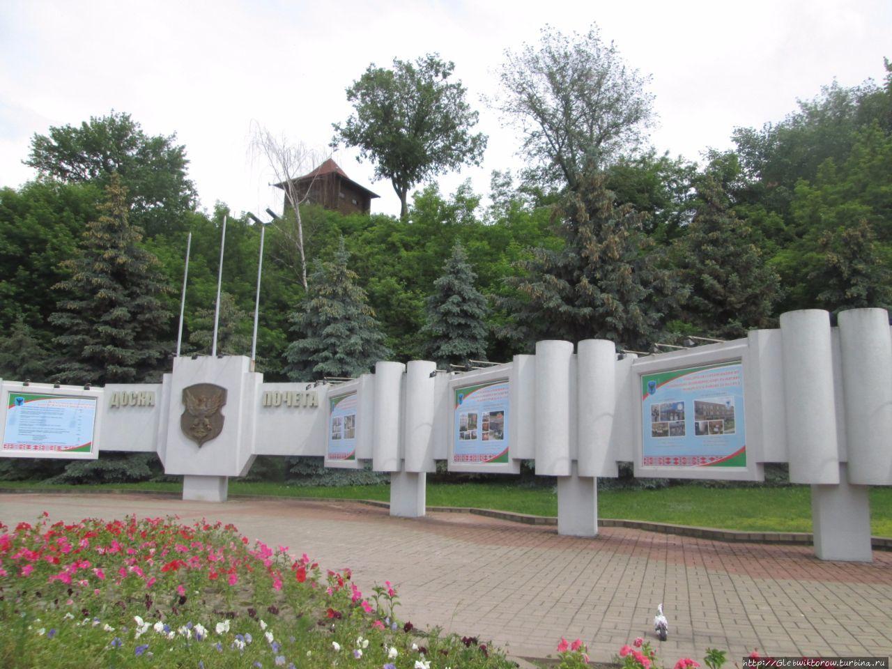 Посещение мозырского замка Мозырь, Беларусь
