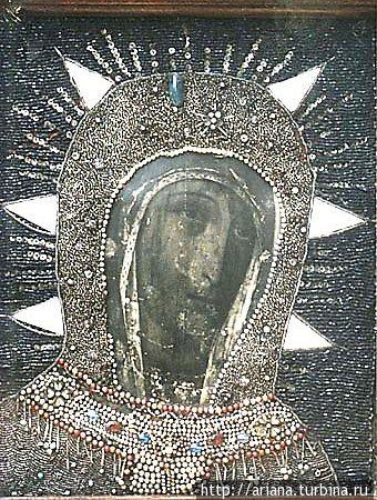 Чудотворная Филермская Икона Богородицы, хранится в Художественном национальном музее Черногории, г.Цетине