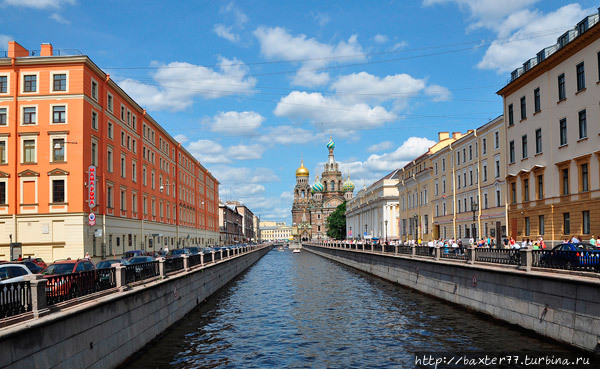 Канал Грибоедова Санкт-Петербург, Россия
