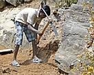 Как утверждает тамильская поговорка — Крепка скала против лома, да слаба против травки