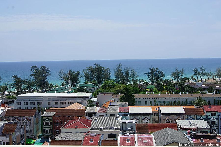 Вид на море с 9-го этажа Террасы