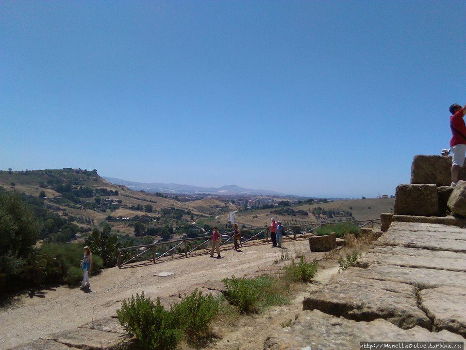 Долина храмов Агридженто, Италия