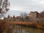 Пешеходный мостик через Вёрниц