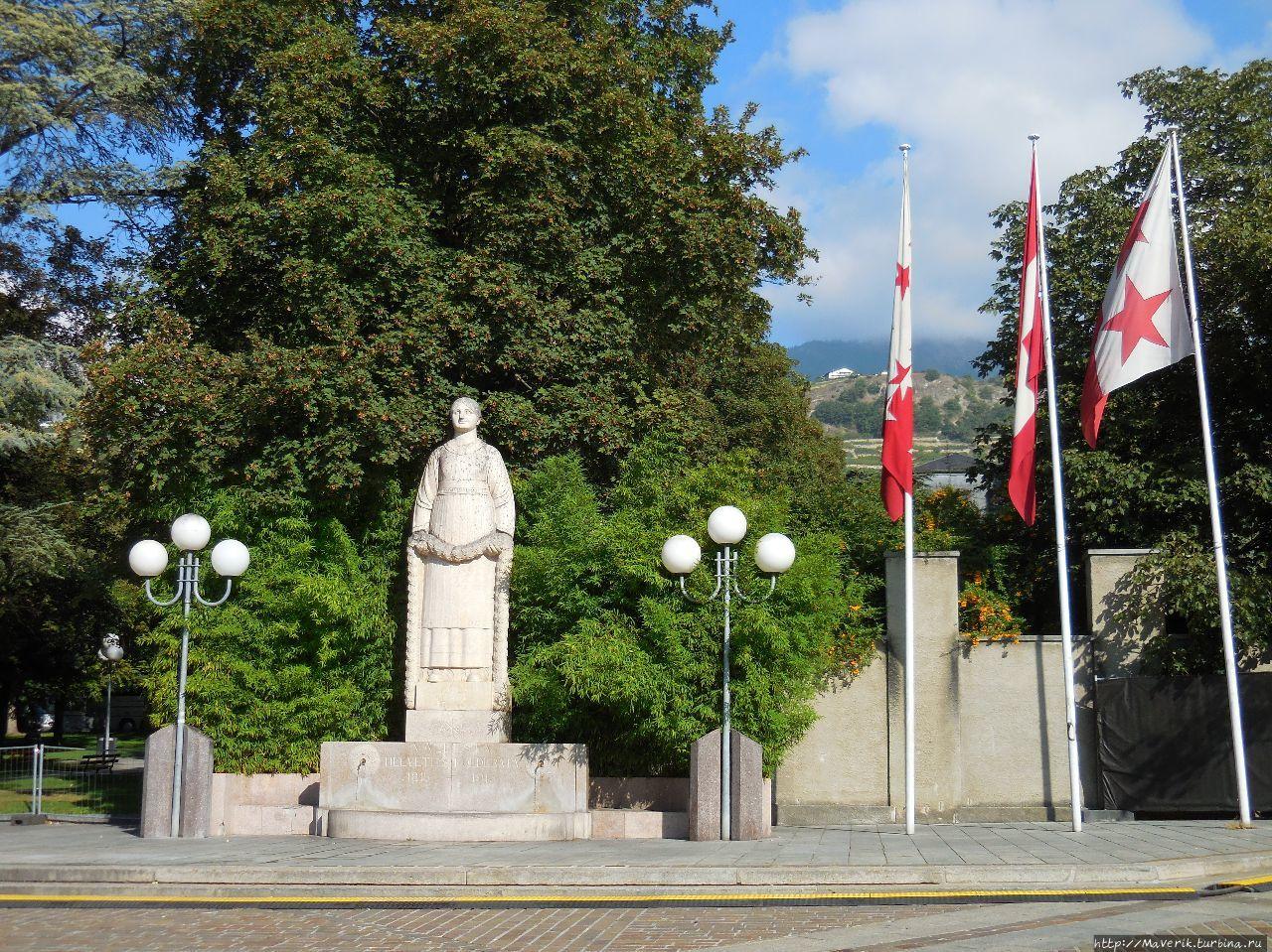 Сьон — самый старинный город Швейцарии