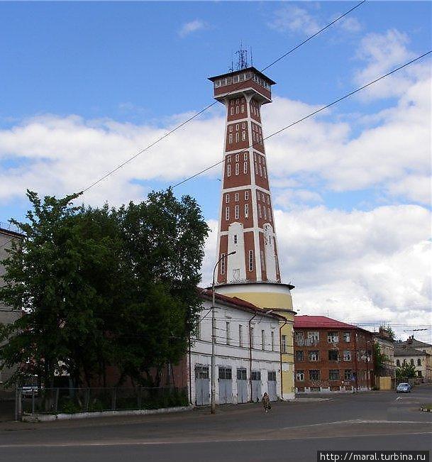 Пожарная каланча — один из брэндов Рыбинска