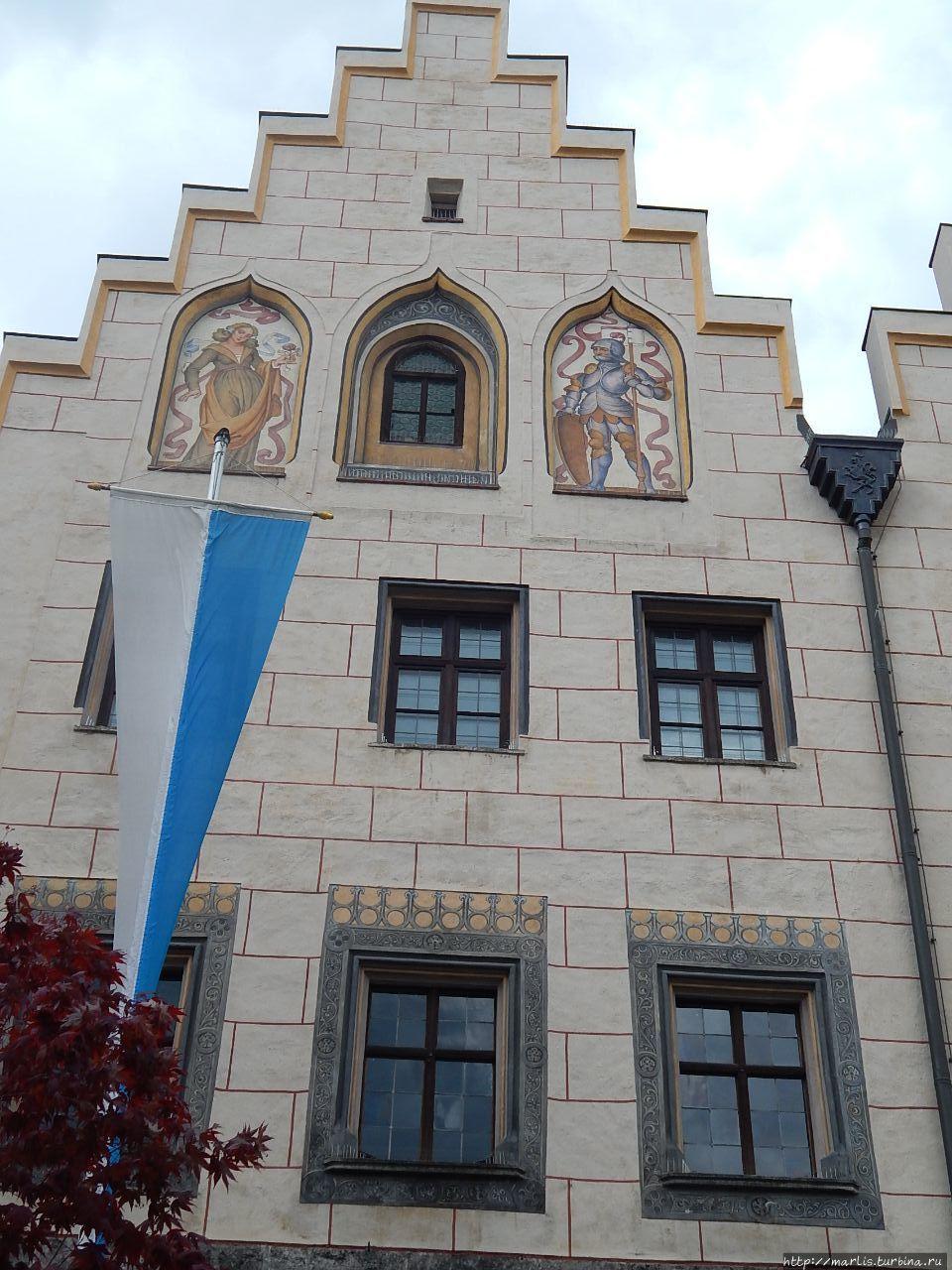 Фасад ратуши Вассербурга,