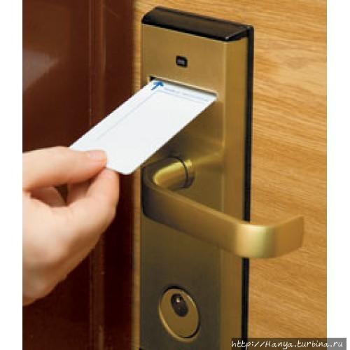 Отельный ключ. Фото из ин