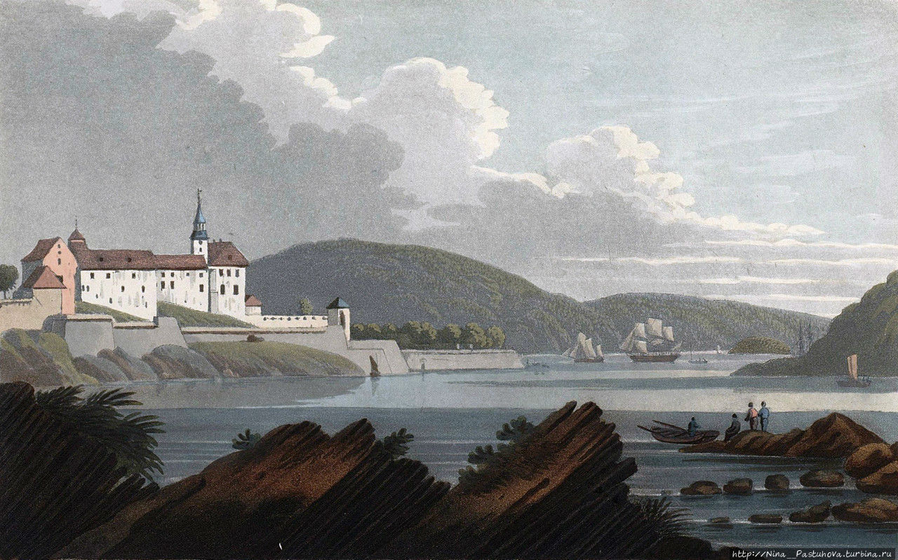 Вид крепости в 1800 году. Фото из интернета