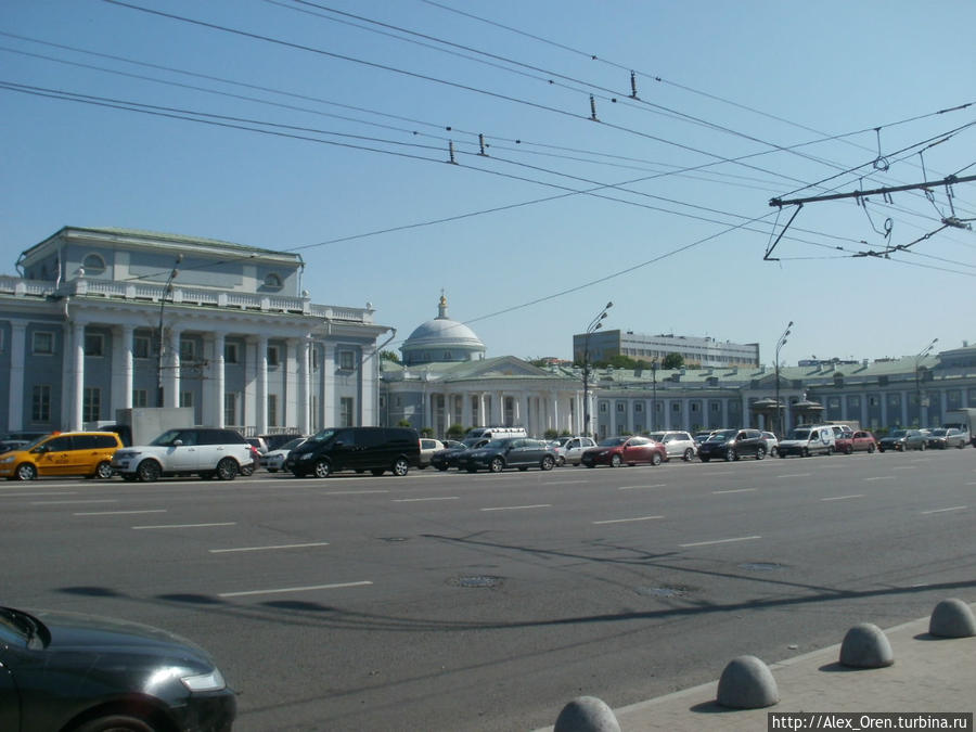 Странноприимный дом на Сухаревской пл.