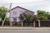 Итак — улица Карла Маркса (именно здесь находится гостиница, где мы поселились)..  ...симпатичные домики..